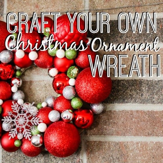 Craft your own christmas ornament wreath daily mom the best part about this diy craft is that it has the potential to be very affordable by purchasing discount bulbs either after christmas or even in your solutioingenieria Choice Image