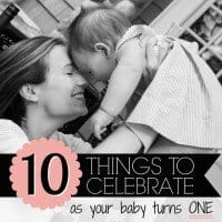 10 Things To Celebrate