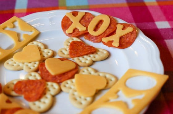a great investment to make when you have kids is to stock up on a variety of fun shaped cookie cutters boring everyday foods can be made into something - Healthy Valentines Snacks