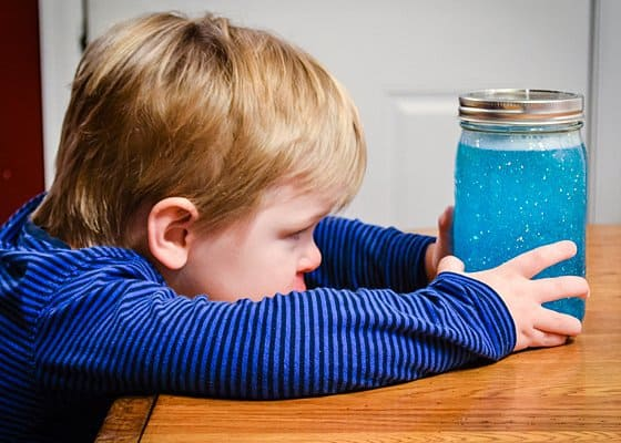 DIY Calm Down Jar for Toddlers - Daily Mom
