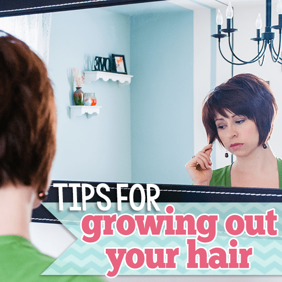 Stupendous Tips For Growing Out Your Hair Daily Mom Short Hairstyles Gunalazisus