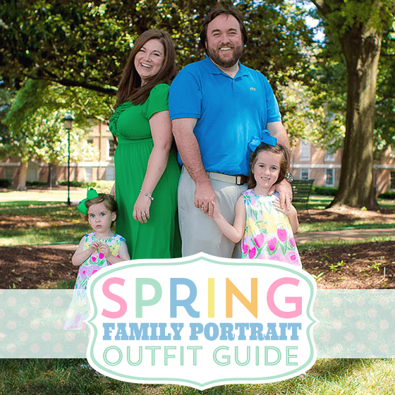Spring family portraits outfit guide daily mom