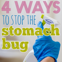 4 Ways to Stop the Stomach Bug