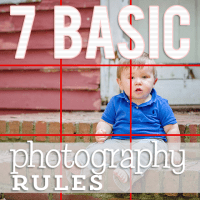 7 Basic Photography Rules