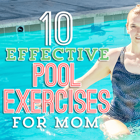 10 effective pool exercises for mom daily mom - Can pregnant women swim in public pools ...