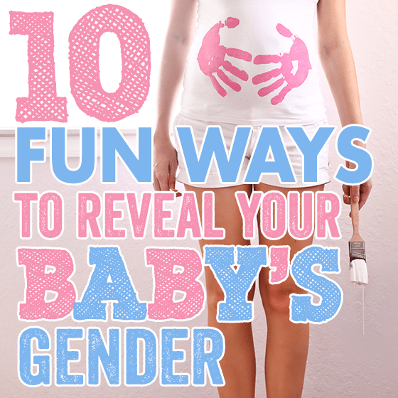 10 Fun Ways to Reveal Your Babys Gender Daily Mom – Ideas for Announcing Baby Gender