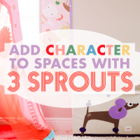 Add Character to Spaces with 3 Sprouts