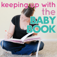 Keeping up with the Baby Book