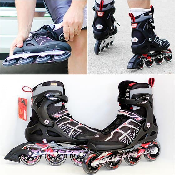 Rollerblade collage