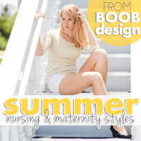 Summer Nursing and Maternity Styles from Boob Design