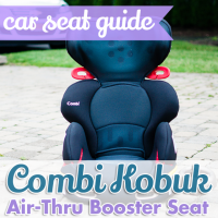 Car Seat Guide Combi Kobuk Air-Thru Booster Seat