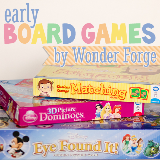 Early Board Games by Wonder Forge (2)