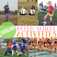 Juggling Afterschool Activities