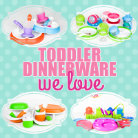 Toddler Dinnerware We Love