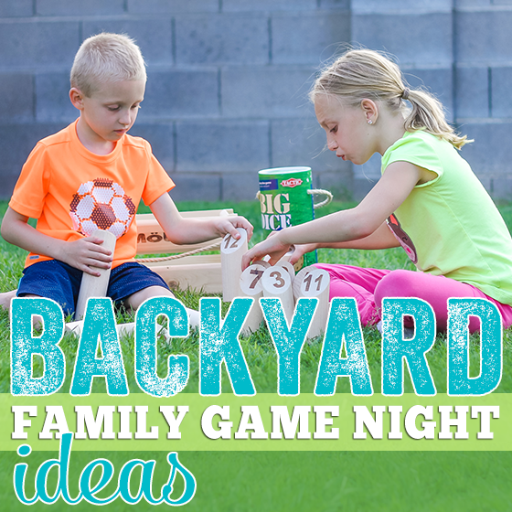 Backyard Family Game Night Ideas