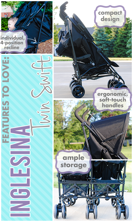 Stroller Guide Inglesina Twin Swift Daily Mom