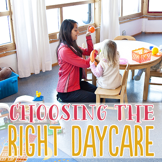 Choosing the Right Daycare