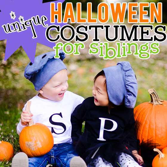 matching halloween costumes for siblings