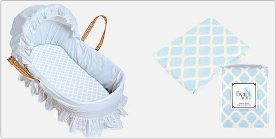 Luxury So you uve found the perfect bassinet for your new little bundle of joy Now it us time to make sure you have a couple extra sets of tiny sheets for those