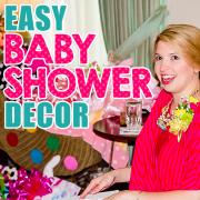 Easy Baby Shower Decor
