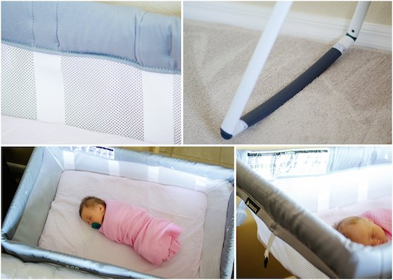 Epic The Lotus Bassinet contains no phthalates PVC lead or flame retardants Full airflow is allowed by the breathable mesh that surrounds the bassinet and