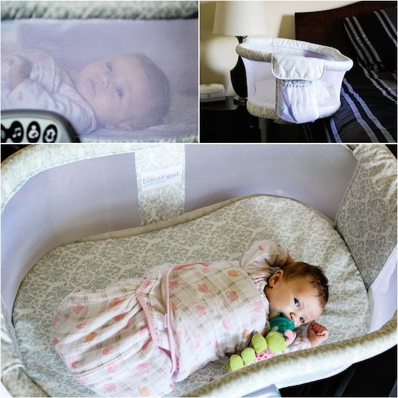 Marvelous This patented design makes it simple to bring baby close to your bed while still being able to
