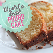 Worlds Best Pound Cake