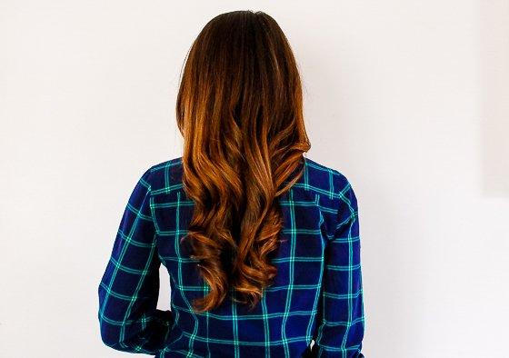 bandana curl back