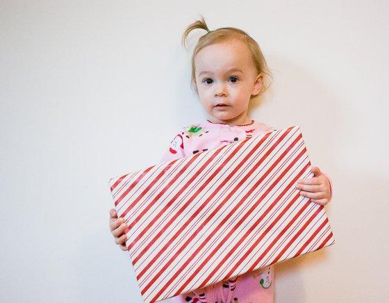 open presents