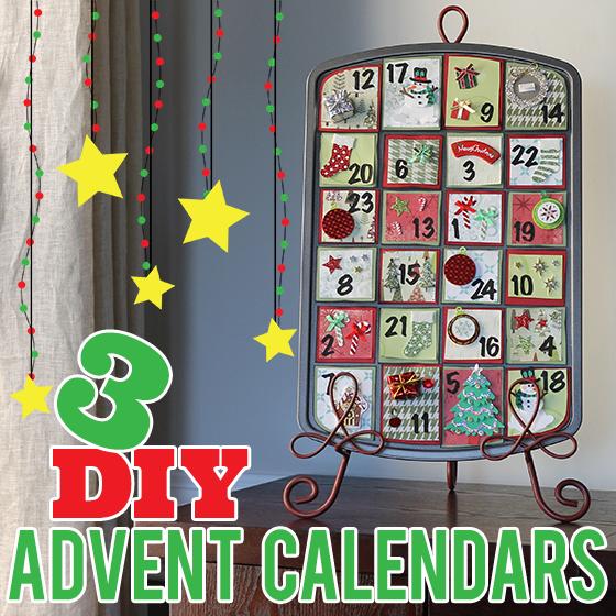 3 DIY Advent Calendars