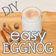 DIY Easy Eggnog