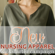 New Nursing apparel Kickstarter Camapign
