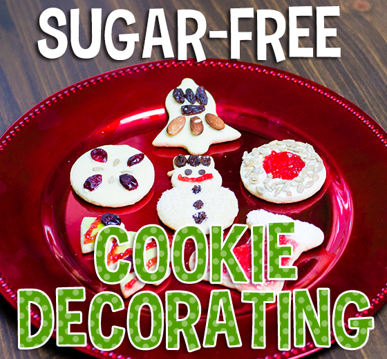 Sugar Free Cookie Decorating_