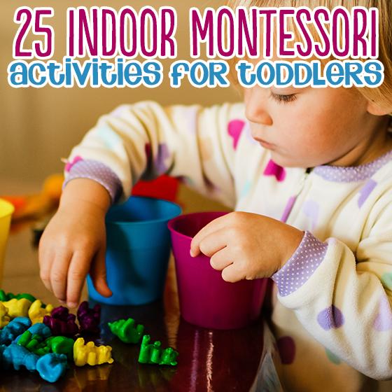 25 Montessori Activities