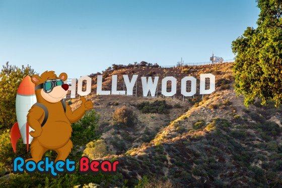 HOLLYWOOD CALIFORNIA - SEPTEMBER 24: The world famous landmark H