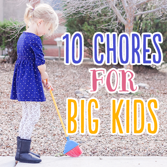 10 Chores for Big Kids