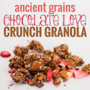 Ancient Grains Chocolate Love Crunch Granola