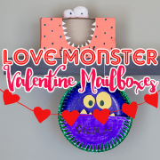 Love Monster Vaneltine Mailboxes