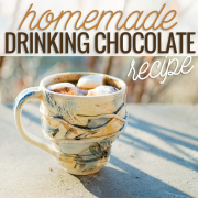 homemade drinking chocolate recipe
