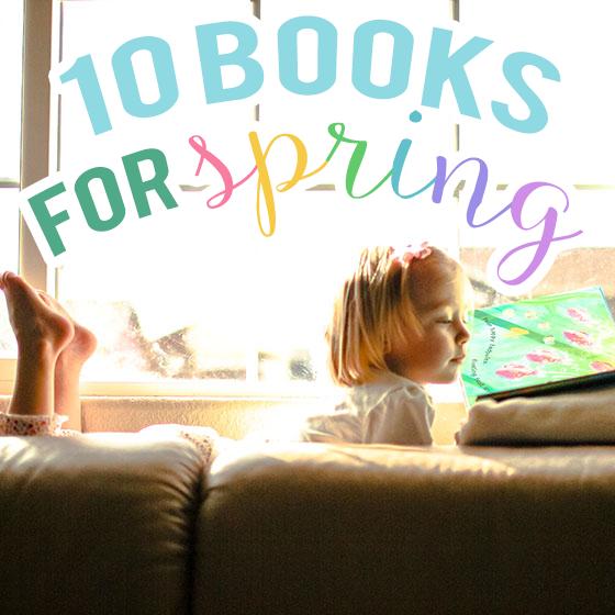 10 Books For Spring