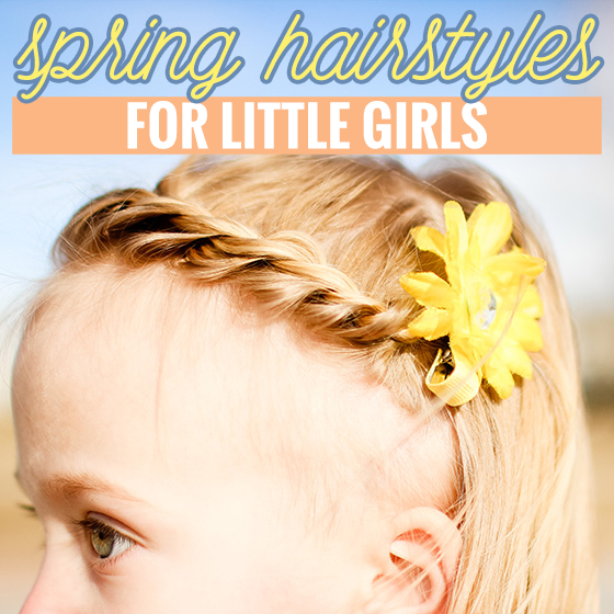 Spring Hairstyles for Little Girls