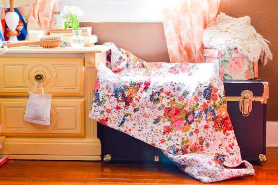 Spectacular If you want a one of a kind quilt throw or rug to liven up your spring decor check out Worldwide Textiles The quilt shown here was made from a vintage