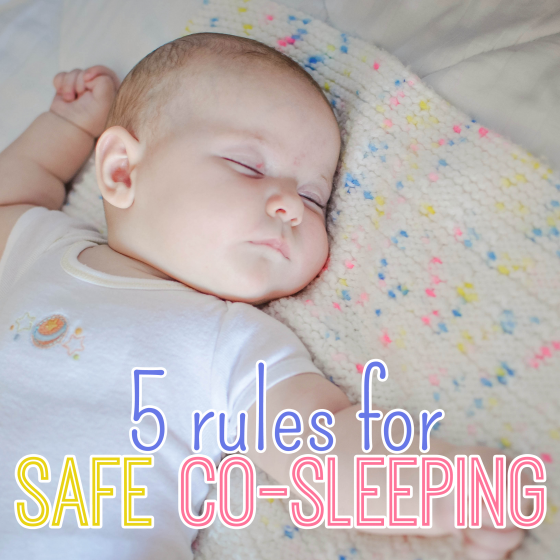 5 Rules For Safe CoSleeping