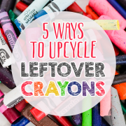 5 Ways to Upcycle Leftover Crayons