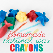 Homemade Natural Wax Crayons