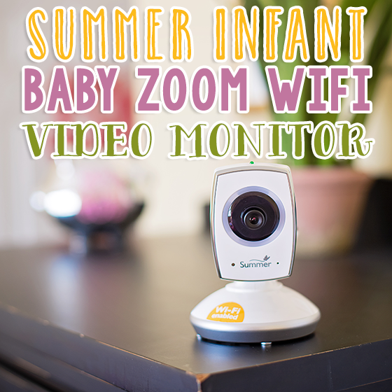 Summer Infant Baby Zoom WiFi Video Monitor