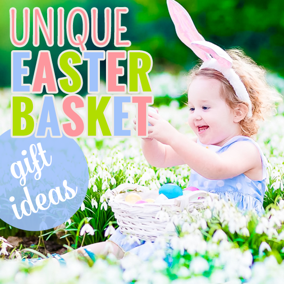 Unique easter basket gift ideas daily mom this year instead of filling your childrens easter baskets with just hard boiled eggs and candy daily mom is here to help you get a little more creative negle Image collections