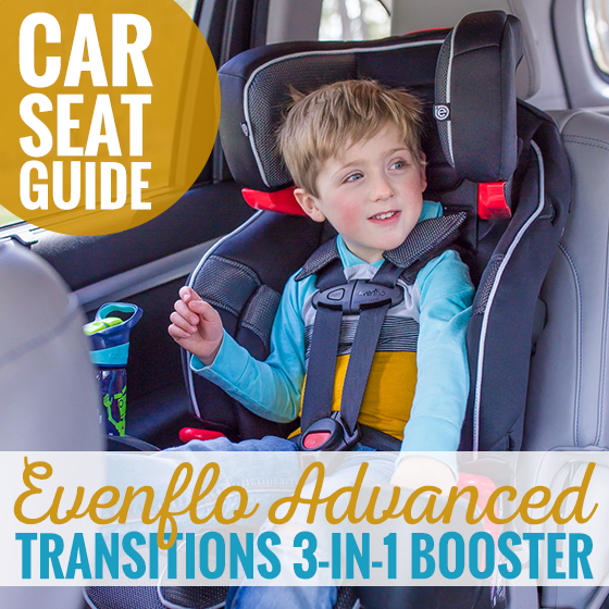 car seat guide evenflo advanced transitions 3 in 1 booster daily mom. Black Bedroom Furniture Sets. Home Design Ideas