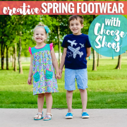 Creative Spring Footwear with Chooze Shoes