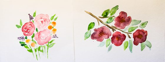 DIY Watercolor Note Cards » Daily Mom